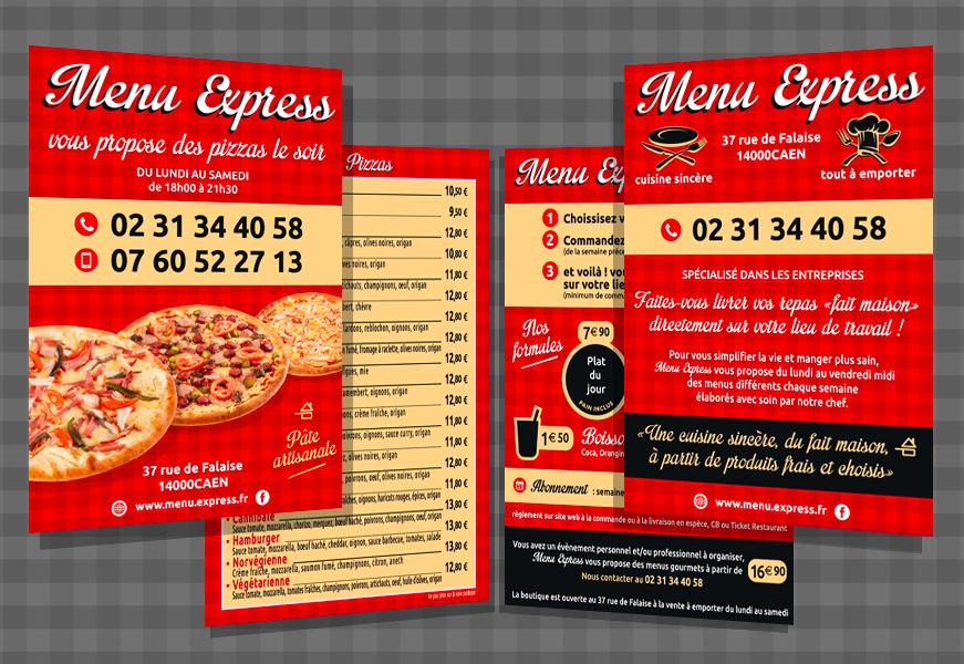 Menu Express - flyers