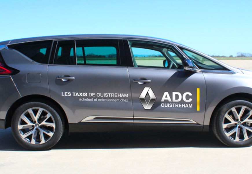 Renault ADC Ouistreham - stickers